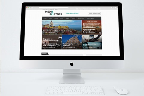Изработка на сайт Media-Partner